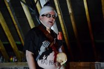 "Lorcan McGrane as ""Livid Lorcan"", LOFT, 2014"