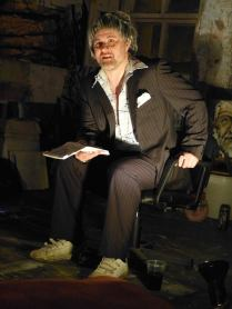 Ruaidhri Ward as Harry Stilton, LOFT, 2014