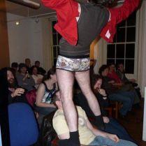 Adam Laughlin (above) Frazer Robb (below), Safehouse Art Gallery, 2009