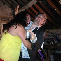 Ruaidhri Ward as Harry Stilton and an admiring fan, LOFT, 2014